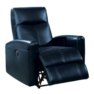 Charmant Blue Leather Recliners Youu0027ll Love In 2019 | Wayfair