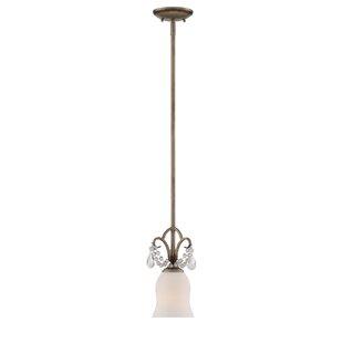 Alden 1-Light Cone Pendant by Ophelia & Co.