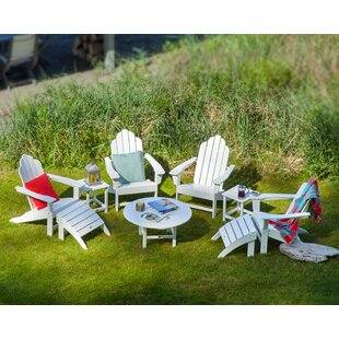 Long Island Adirondack 9-Piece Conversation Group by POLYWOOD?