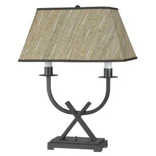Yahir Barrow Desk 25.5 Table Lamp