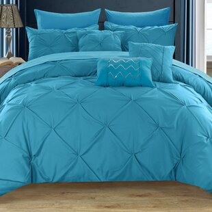 Willa Arlo Interiors Yamna Contemporary 8 Piece Twin Comforter Set