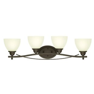 Great Price Maeystown 4-Light Vanity Light By Charlton Home