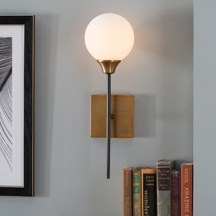 Bautista 1-Light Wall Sconce & Sconces Youu0027ll Love | Wayfair