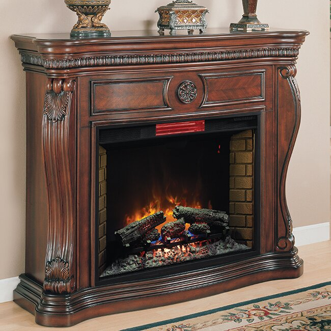 Classic Flame Lexington Infrared Quartz Electric Fireplace ...