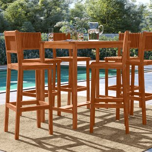 Brighton 7 Piece Bar Height Dining Set