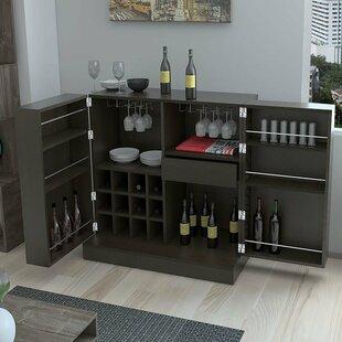 Chino Bar Buffet 12 Bottle Floor Wine Rack by Brayden Studio