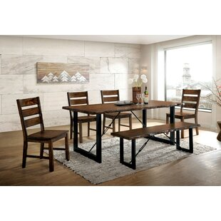 Nesbit 6 Piece Dining Set Loon Peak