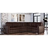 Dallas 141 Genuine Leather Sectional by Westland and Birch