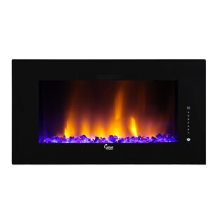 Caesar Luxury Wall Mounted Electric Fireplace by Caesar Fireplace