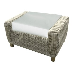 Forever Patio Carlisle Ottoman with Cushion