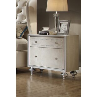 Online Reviews Aveliss 2 Drawer Nightstand by Rosdorf Park
