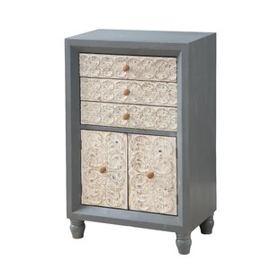 One Allium Way Gadson 3 Drawer Accent Cabinet