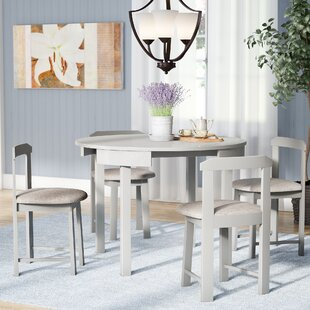 Mabelle 5 Piece Dining Set by Andover Mills Read Reviews