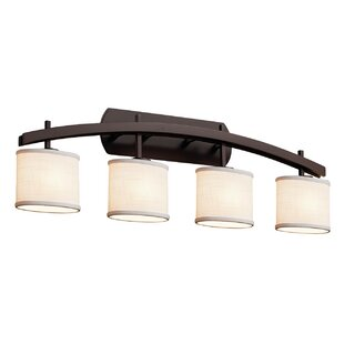 Latitude Run Red Hook Archway 4 Light LED Oval Vanity Light