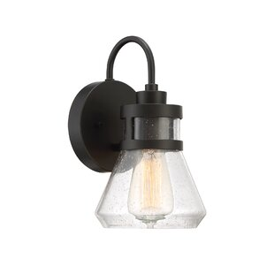 Gracie Oaks Tonya Outdoor Sconce