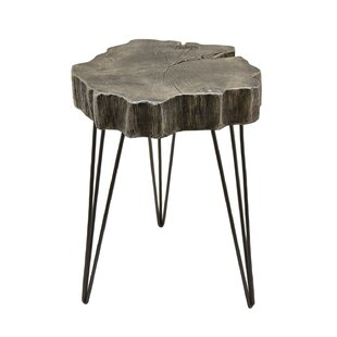 Union Rustic Romey End Table