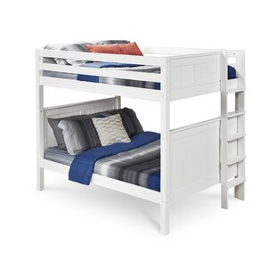 Oakwood Full Over Full Bunk Bed by Harriet Bee Best #1