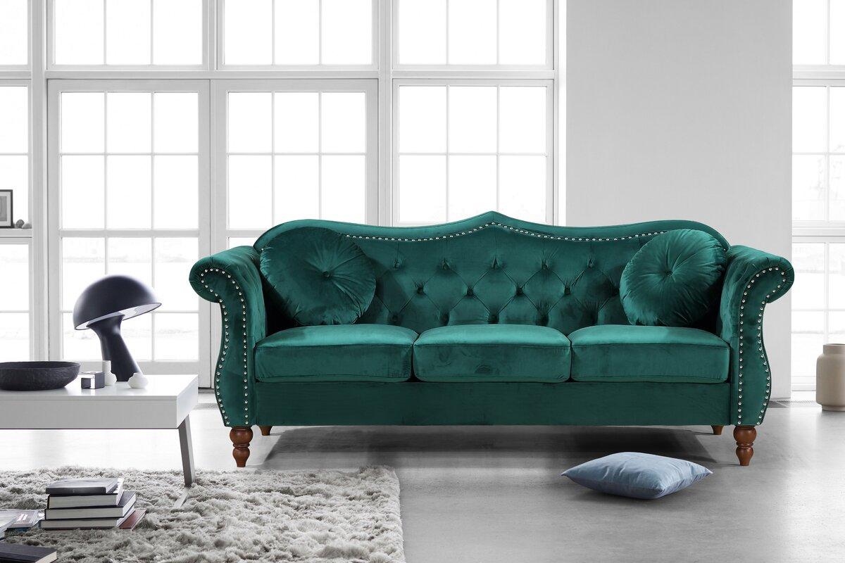 Holder Nailhead Chesterfield Sofa