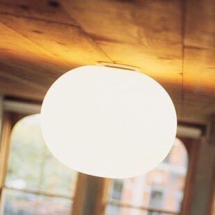 Mini Glo Ball 1 Light Flush Mount