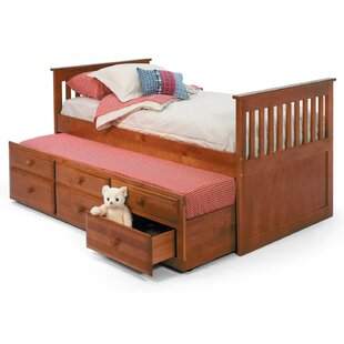 Order Twin Slat Bed with Trundle and Storage by Chelsea Home Reviews (2019) & Buyer's Guide