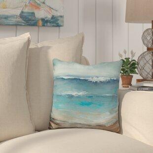 Campanella Home The Sea Throw Pillow