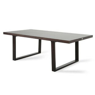 Corbin Solid Wood Dining Table by 17 Stories Wonderful