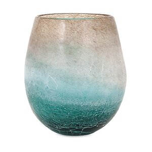 Ranjeet Frosted Short Vase