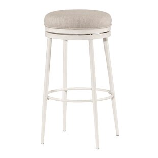 Lauri Swivel Bar Stool by Highland Dunes
