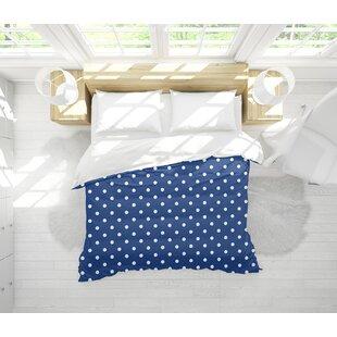 Kiker Polka Dots Light Weight Single Comforter by Ebern Designs