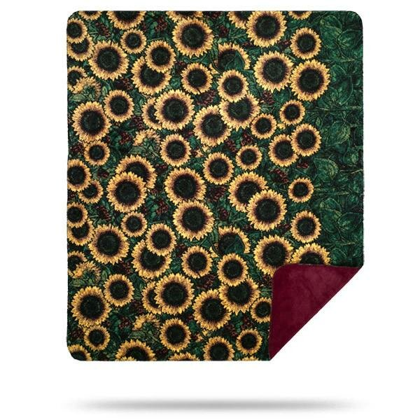 Myrtlewood Sunflowers Blanket