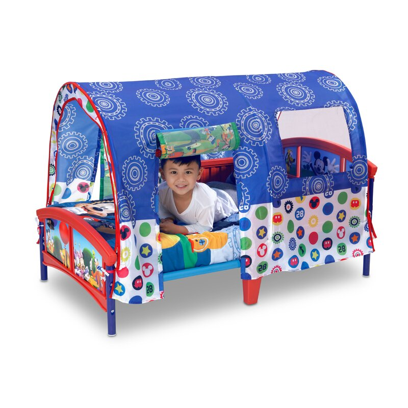 Disney Mickey Mouse Toddler Tent Bed  sc 1 st  Wayfair & Delta Children Disney Mickey Mouse Toddler Tent Bed u0026 Reviews | Wayfair