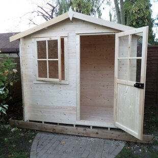 Polito 9.5 X 9 Ft. Tongue & Groove Summer House By Sol 72 Outdoor
