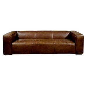 Sherron Leather Sofa by Un..