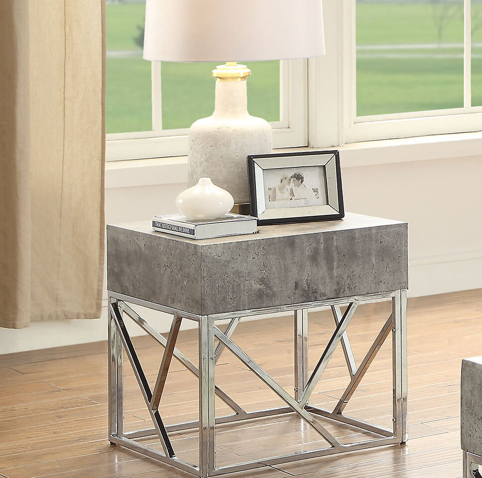 Orren Ellis Hutson End Table | Wayfair