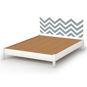 Step One 13.5in Tall Queen Platform Bed by South Shore