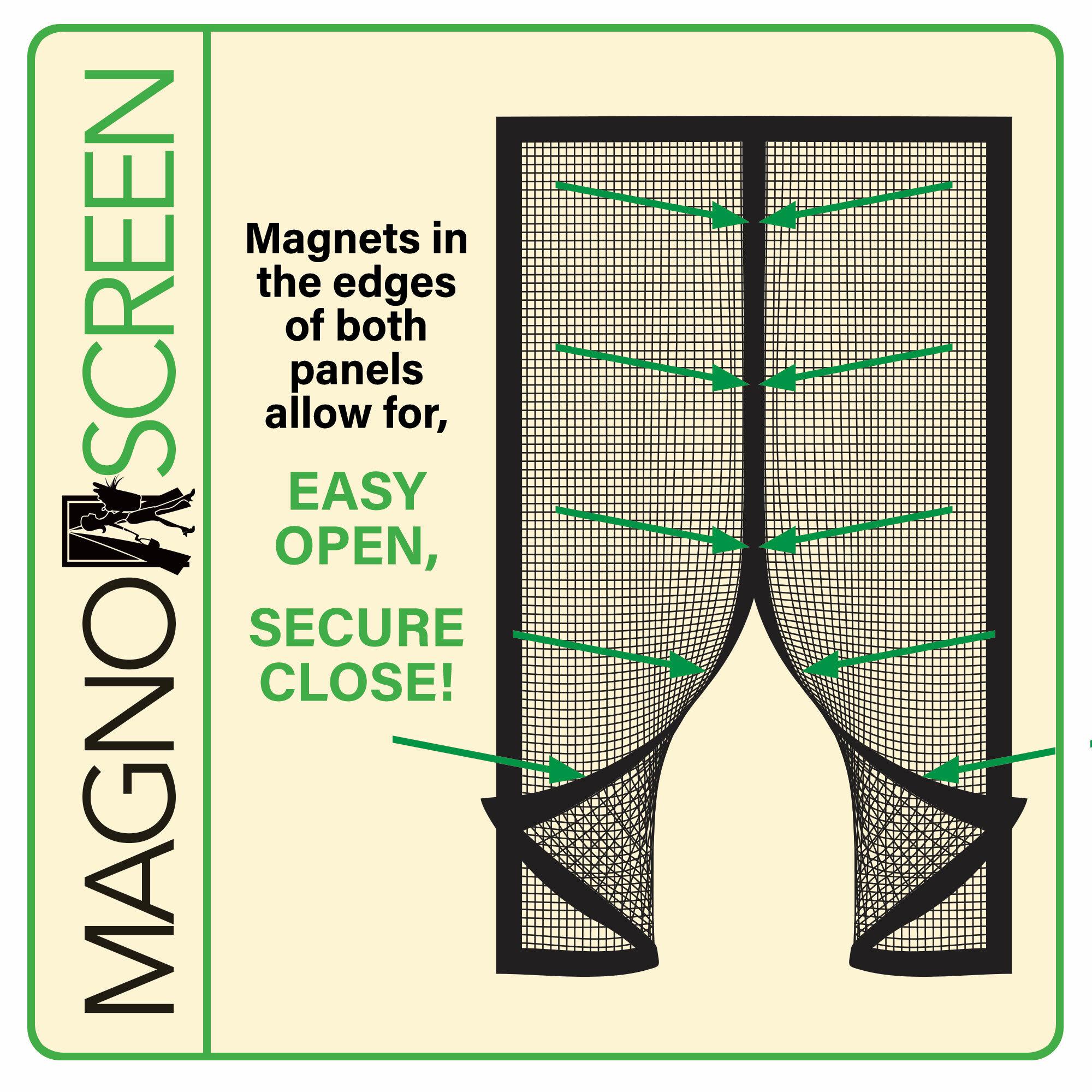 Tafco Ready To Install Mesh Magnetic Screen Door Wayfair