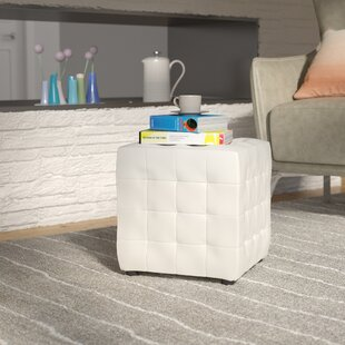 Latitude Run Etter Cube Ottoman (Set of 2)