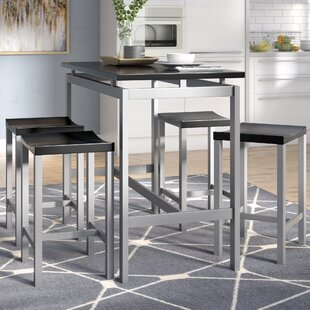 Mcgonigal 5 Piece Pub Table Set by Mercury Row Top Reviews