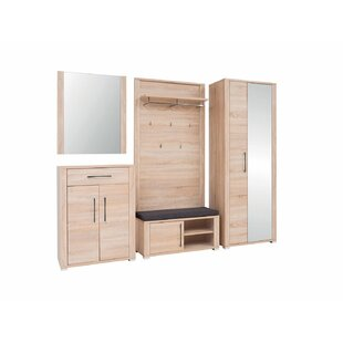 Nickerson 5 Piece Hallway Set By Natur Pur