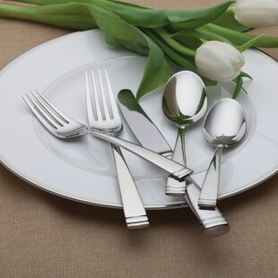 Conover 65 Piece Flatware Set, Service for 12