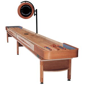 Telluride Honey Shuffleboard Table