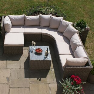 Scribner 6 Seater Rattan Corner Sofa Set By Sol 72 Outdoor
