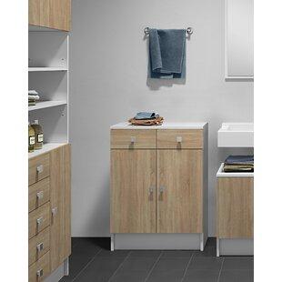 Edgardo 60 X 81.5cm Free Standing Cabinet By Mercury Row