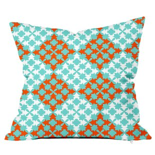 Moroccan Tile Throw Pillow