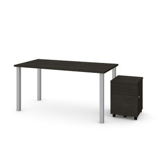 Ally 2 Piece Desk Office Suite by Symple Stuff Today Sale Only