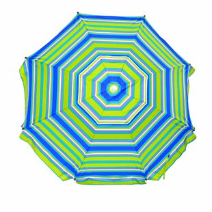 Freeport Park Evan Heavy Duty 8' Beach Umbrella