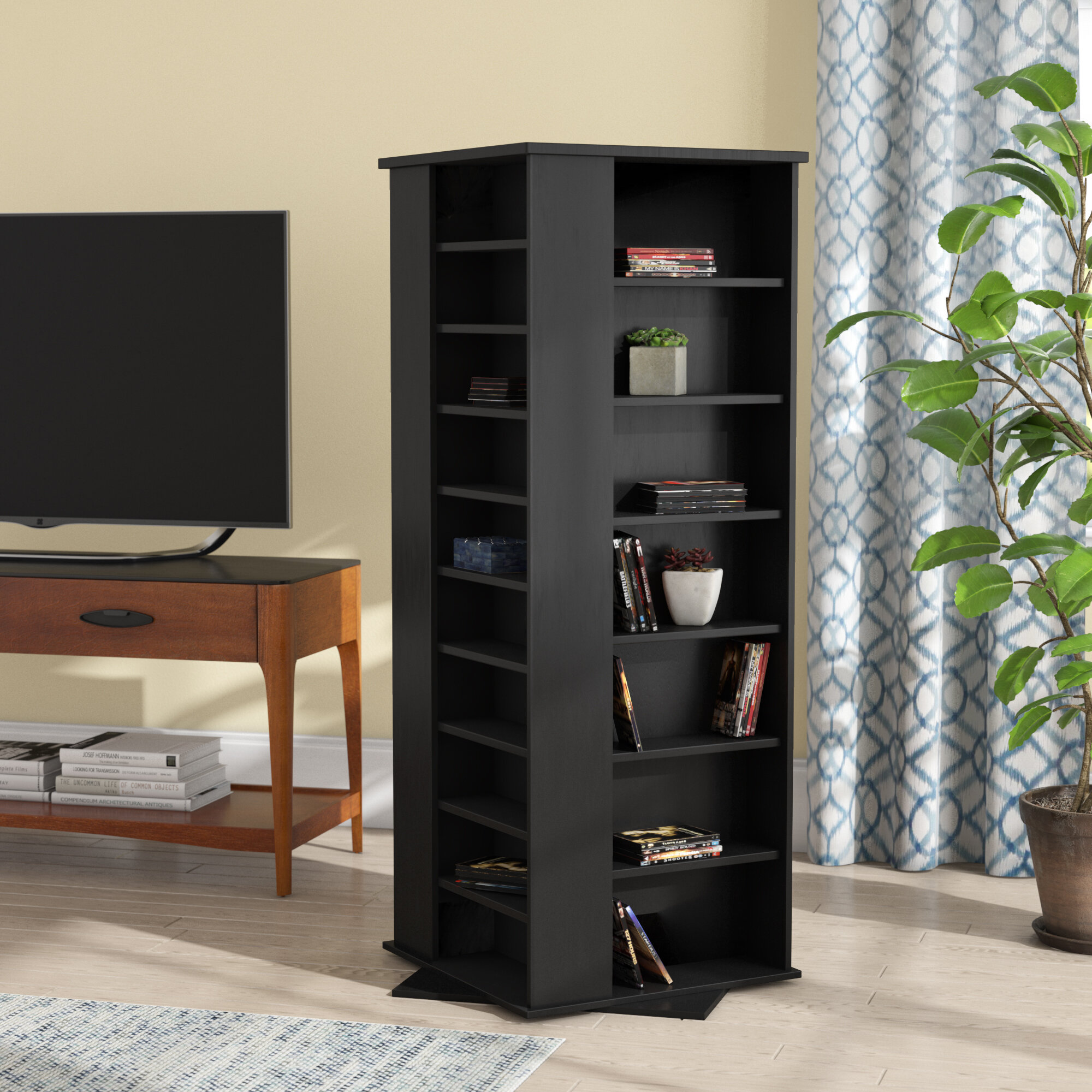 Rebrilliant 1600 CD Molded Multimedia Revolving Tower U0026 Reviews | Wayfair