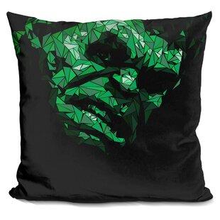 Hulk II Throw Pillow