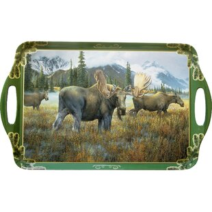 Melamine Moose Serving Tray