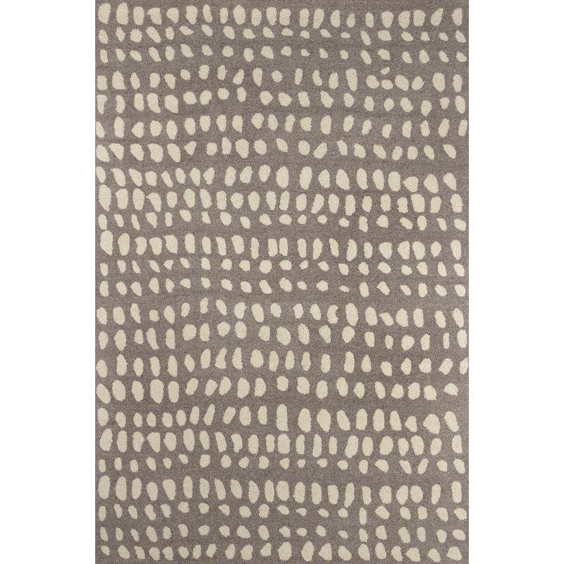 Novogratz Polka Dots Handmade Tufted Wool Beige Area Rug Wayfair